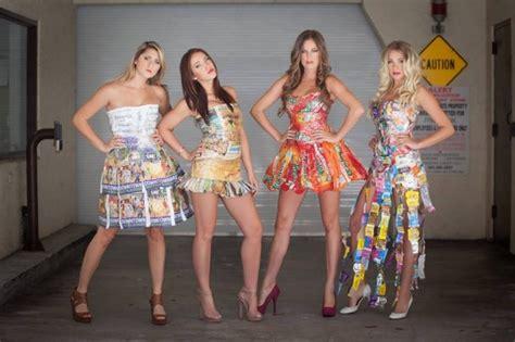 Garbage Clothing Company Eco Friendly Designer Transforms Garbage Into Glamorous