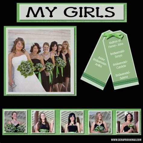 Wedding Album Scrapbook Layouts by 1000 Ideas About Wedding Scrapbook On Wedding