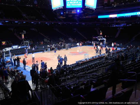 msg section 109 madison square garden section 105 new york knicks
