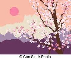 fiore giapponese fiore montagna giapponese paesaggio montagna