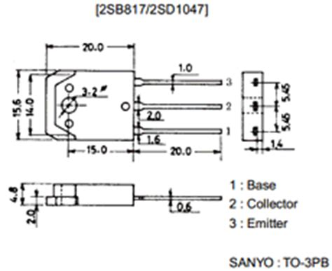 transistor b817 datasheet datasheet pdf info
