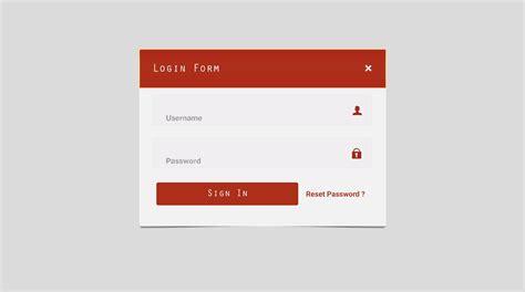 design form psd top 5 best login form mockup psd design techfameplus