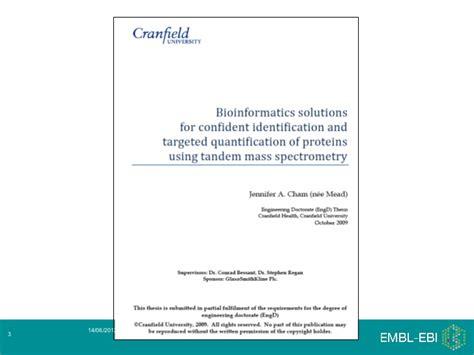 Mba In Bioinformatics by Bioinformatics Career Day