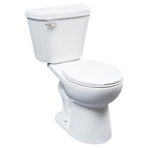 Rona Plumbing by Front 2 Toilet Comfort 4 8 L White Rona
