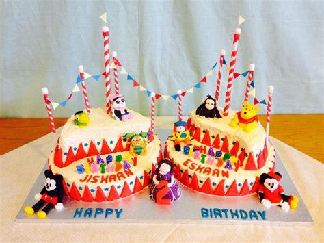 Disney Circus disney junior characters circus cake crumbs cake shop
