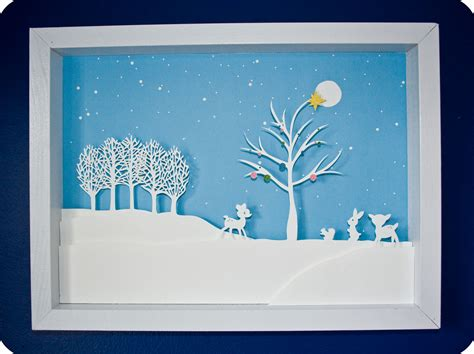 winter paper crafts paper cut winter i m feeling crafty sugar bee crafts