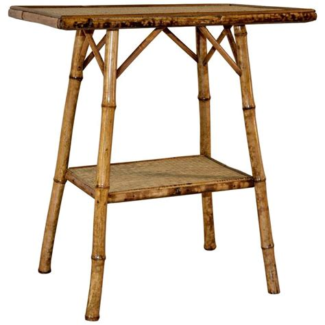 Bamboo Side Table Late 19th Century Bamboo Side Table At 1stdibs
