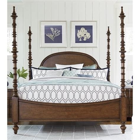 poster beds king paula deen home dogwood king poster bed in low tide 596290b