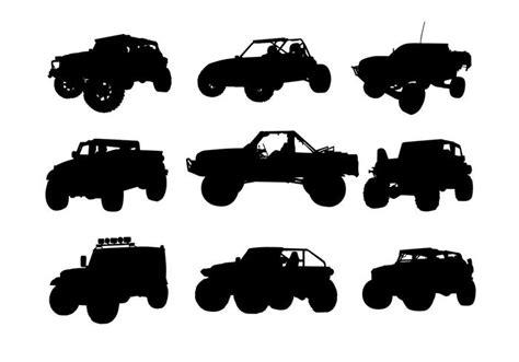 jeep road silhouette jeep road silhouette