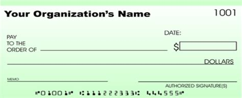 Blank Check Template Free Free Cheque Template