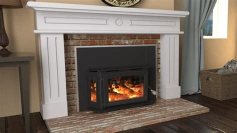 wood pellet burning fireplace inserts breckwell wood fireplace insert sw180i