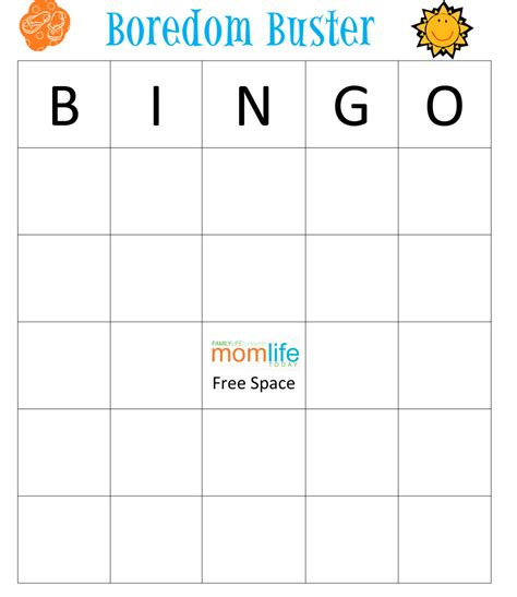 bingo card template png summer bingo momlife today