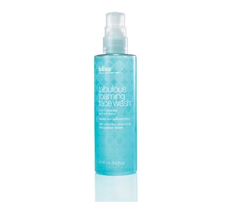 I Am 20 And Fabulous Best Skin Care Products For 20 Something Year Olds by Fabulous Foaming Wash Bliss Product