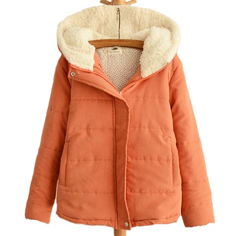 Outer Coat Jaket Wanita Outerwear Jaket new winter jacket hooded wadded coats outerwear casual thick cotton