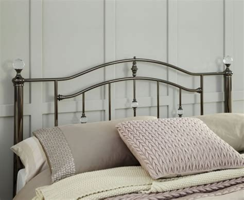 ashley black nickel metal headboard just headboards