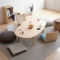 Oval Dining Room Table Furniture From Muji Muji