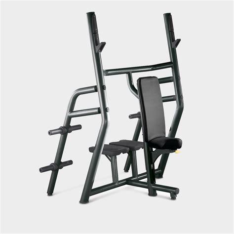 vertical bench element vertical bench military press rack technogym