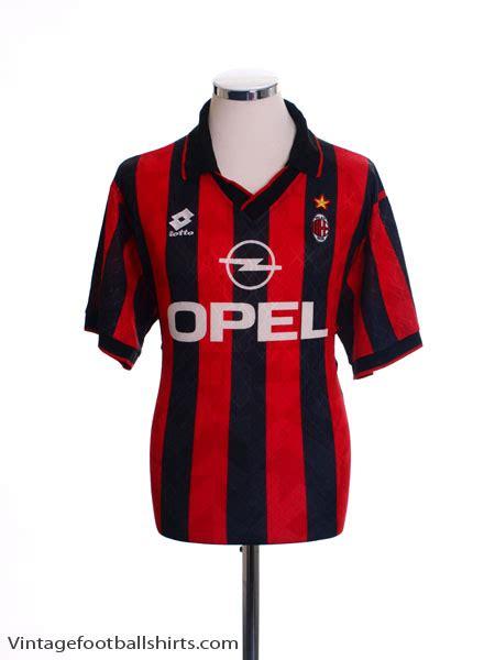 Jersey Ac Milan Home 1995 1995 96 ac milan home shirt l for sale