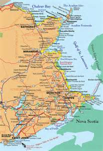 maine canada border map acadian coastal drive motorcycle tour guide scotia