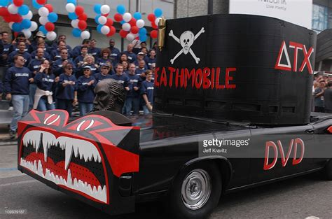 animal house parade deathmobile during animal house 25th anniversary ultimate