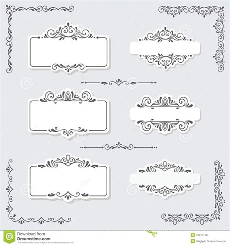 design elements for loading in vector from stock 25 eps vintage design elements royalty free stock photos image