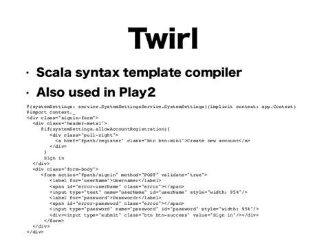 template scala gitbucket the github clone by scala