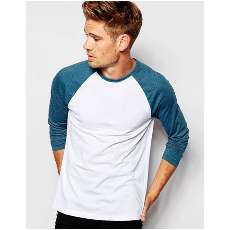 T Shirt Sleeve asos s sleeve t shirt with contrast raglan sleeves menclothingblog