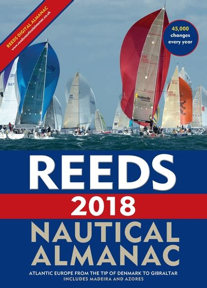 2018 nautical almanac books reeds nautical almanac 2018 reed s almanac perrin towler