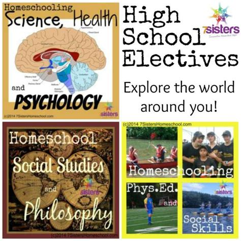 7 Electives To Take In College by Teaching High School Electives 7sistershomeschool
