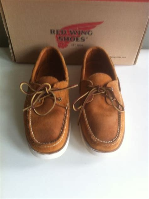 boat shoes red wing red wing boat shoe catawiki