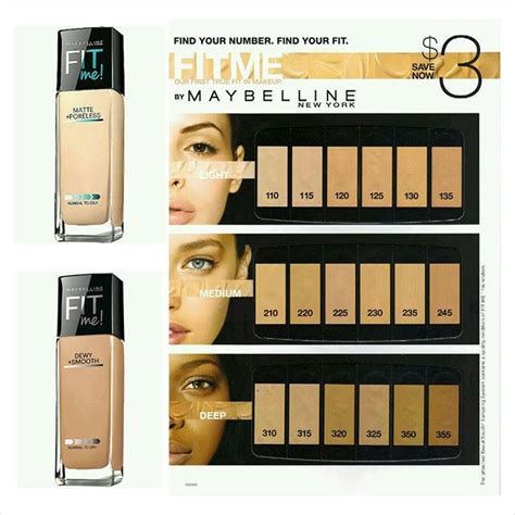Maybelline Fit Me Matte base maybelline fit me matte poreless distrito belleza