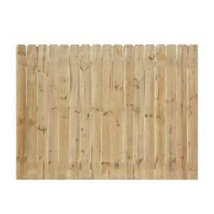home depot fence pickets 6 ft x 8 ft pressure treated pine ear fence panel