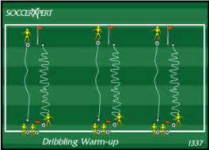 dribbling warm up, dribbling drill
