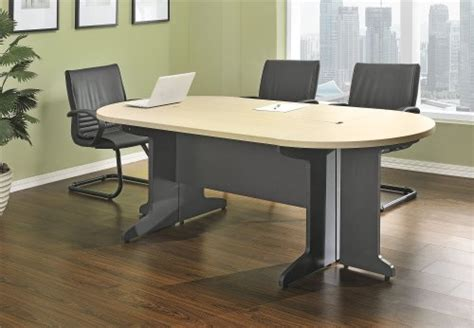 Small Office Meeting Table Altra Pursuit Small Conference Table Bundle Cherry Gray Furniture Office Furniture Workspace