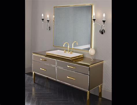 Hton Bathroom Vanity milldue 18 black lacquered glass luxury italian