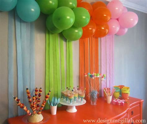 birthday party decoration ideas for kids at home an art birthday party party pinterest art birthday