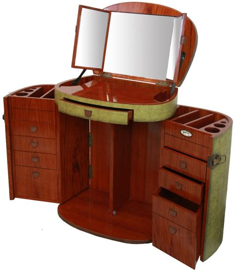 Marie Galante dressing table with mirror / Vanity Jade