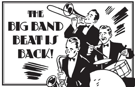 swing big band music big swing band picnic eastleach village