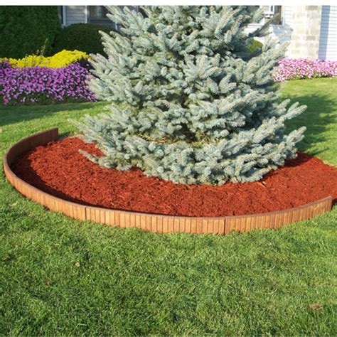 Landscape Borders Rona Edging 3 Ft Wooden Lawn Edging Rona