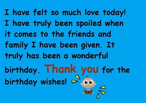 Saying Thank You For Birthday Wishes Quotes Thanks For The Birthday Wishes Notes And Quotes Cute