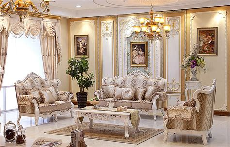 french style living room furniture european style luxury villa living room sofa sofa leather