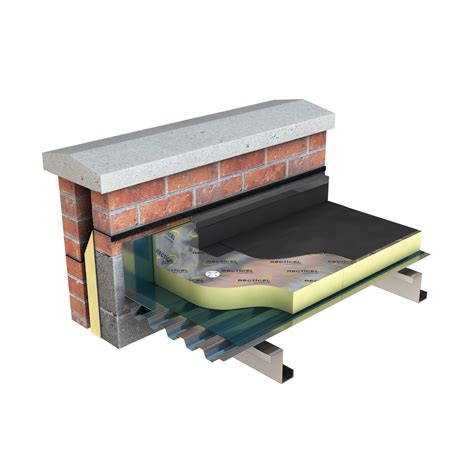 single ply membranes gradient flat roof insulation
