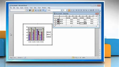 how to make a graph how to make a bar graph in microsoft 174 word 2010