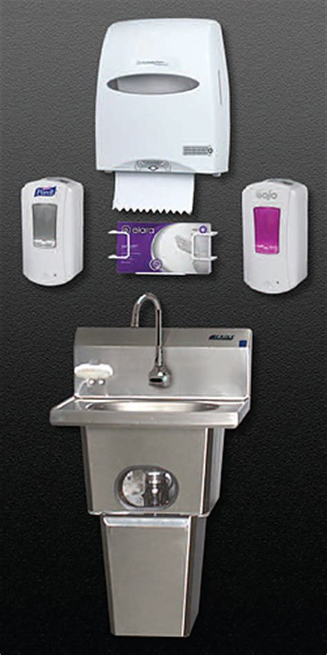Chicago Faucets Kitchen Integrated Hand Hygiene Interventions Handwashing For Life