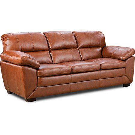 Saddler Leather Sofa by Soflex Dodson Leather Sofa Saddle Walmart