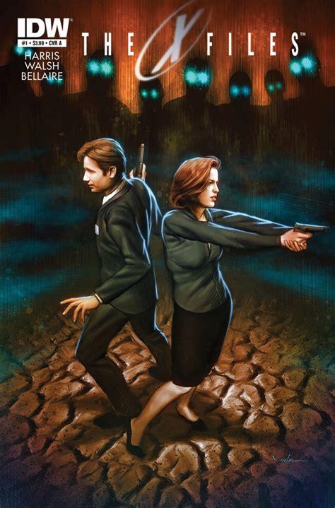 Xfiles Plakat by X Files Season 10 1 Idw Talking Comics