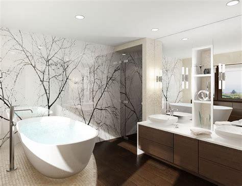 wand im badezimmer moderne b 228 der ohne fliesen