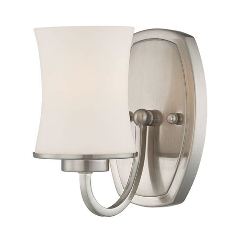 eurofase dorado collection 1 light satin nickel wall