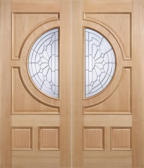 External Oak Front Doors Empress External Oak Door