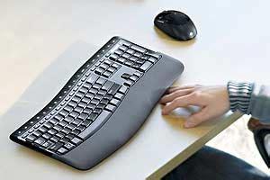 microsoft comfort curve keyboard 5000 microsoft wireless comfort desktop 5000 keyboard and mouse